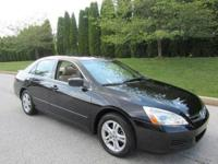 LV 2005 Honda Accord EX Black 4dr 3.0L V6 Sedan