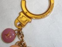 Louis Vuitton inspired key chain, but looks like the