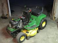 I have a John Deere LX 172 riding lawn mower 38in cut