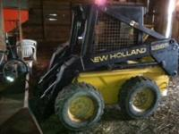 1996 New Holland lx565 skid loader working condition