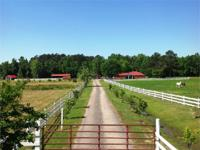 This unique 74 acre tract is an equestrian lovers'