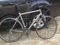 2009 Lynskey R330 Titanium roadway bike with Campagnolo