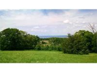 Scenic Mississippi River view acreage high atop the