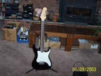 "used nice LIGHT WEIGHT electric guitar ""LYON ""by"