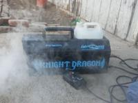 Knight Dragon FG 8001 fogger with remote timer and 25
