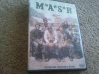 MASH season one collectors edition. 3 disc set all in