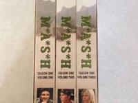 Complete Seasons of MASH in their boxes/cases in