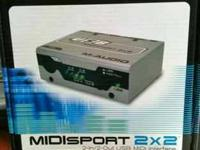The M-Audio USB Midisport 8x8 is a revolutionary