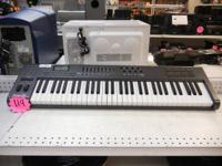 M-Audio Axiom 61 keyboard. Could be utilized via USB