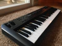 I have a M-Audio Oxygen 61 keyboard in terrific