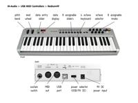 M-Audio Radium49 USB Midi Keyboard Controller For Sale