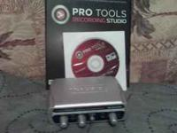 I am selling my M Audio fast track home recording