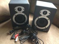 I'm selling a really cool pair of M Audio StudioPro 3