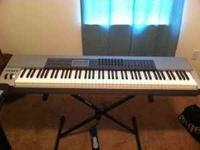 Here is a M-Audio Keystation Pro 88-weighted key MIDI