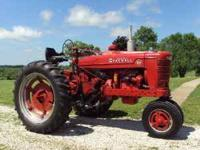 Nice running tractor. New starter and radiator. Good