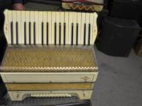 M.Hohner Accordion Made In Germany  Up for sale is a