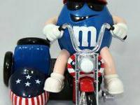 M&M Collectible dispensers from 10 bucks up depending
