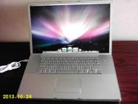 "17"" WideScreen Mac Apple Laptop. All Aluminum. Very"