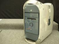 MAC G4 COMPUTER AND KEYBOARD, GOOD WORKING CONDITION.