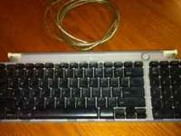 I'm selling a Mac keyboard (Bondi Blue). It will work