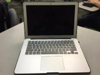 Type: Apple Type: MacBook Air The laptop is in
