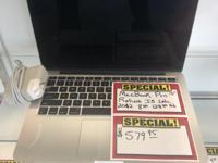 MacBook Pro 13� (Processor)  I5) � 8gb Ram � 128gb ssd