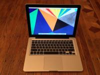 Good condition MacBook Pro:10 months old13.3-inch