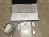 I am selling a used MacBook Pro with Intel Core 2 Duo,