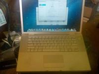 Up for sale is a nice 2008 Apple Macbook Pro. No