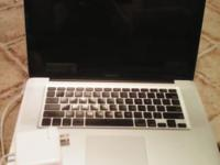 MacBook Pro 15-inch Processor: Intel Core 2 Duo 2.66