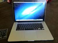 "I have a Like New Macbook Pro 15.4"" Retina Display for"