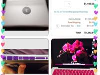"Beautiful 8gig/500gig 13"" MacBook Pro will be 1 yr in"