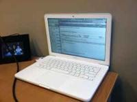 I have a white Apple Macbook 2.26 Ghz Intel Core 2 Duo