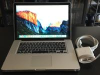 I'm selling my Mid-2012 MacBook Pro, Model number: