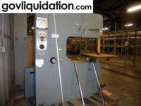 Machine Tools & Welding Equipment including band saws,
