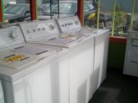 Many refurbished washers to select from. Inventory