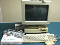 vintage Apple Macintosh LCIII desktop system