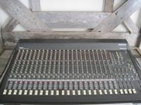 Mackie 24 VLZ 4 bus Mixing Console with HARD Case.(NO