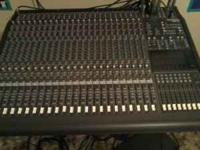 I have a Mackie 24 channel, 8 bus mixer. This thing is