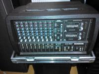 In great shape w/road case. Full featured 8-channel /