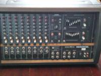 Mackie 808S Powered PA head.   8-channel 1200 watt