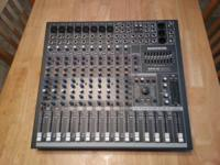 Mackie CFX12 MkII in exceptional condition. Barely