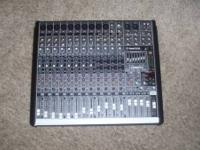 Mackie pro fx16 mixer. used 2 times. perfect shape.