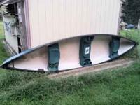 Used Mackinaw 156 Canoe. Bought this year from