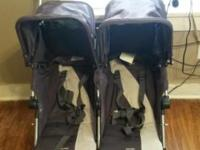 Maclaren double stroller like new barely used. Selling