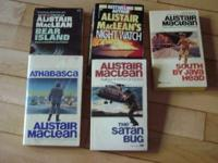 There are five MacLean paperback books for sale. These
