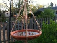 Enjoy your yard and garden even more by hanging some of
