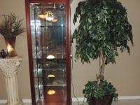Here is a Beautiful Logan Lighted Sliding Glass Door