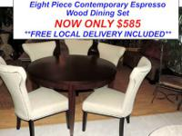 Here is a Stunning Dining Room Set by Macy's Furniture.