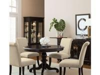 Here is a Stunning Dining Room Set by Pulaski